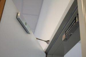 طریقه نصب قفل مگنت