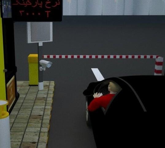 سیستم پلاک خوان پارکینگ